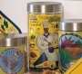 Black Chef Canister Set of 3