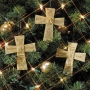 Adinkra Cross Ornaments