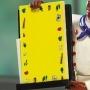 Black Chef Memo Holder Refill Pads Set of 3