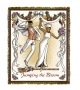 Wall Hanging/Coverlet Jumping the Broom